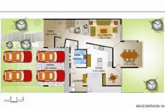 Campos de San Isidro II - Plano Primer Nivel