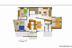 Campos de San Isidro II - Plano - Plano Segundo Nivel