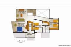 Campos de San Isidro II - Plano Segundo Nivel